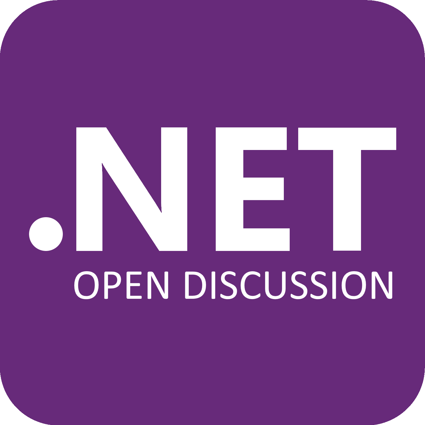 Open discussion for .NET