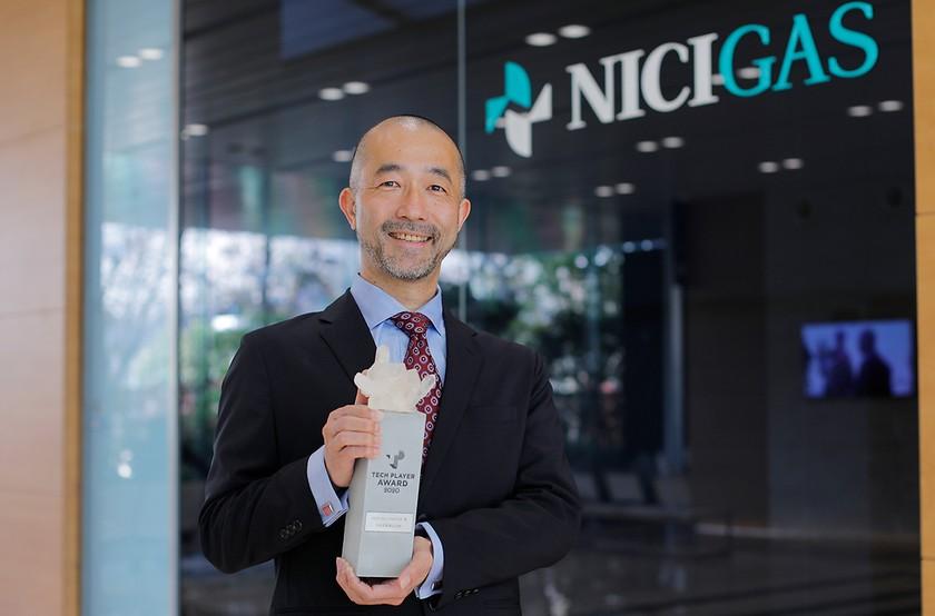 ガスメーターをオンライン計測する「NCU」を自社開発し、インフラ業界の課題をDX化したニチガスが「BEST DX COMPANY賞」受賞