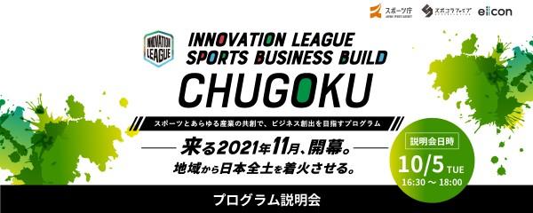 【オンライン説明会】【中国】INNOVATION LEAGUE SPORTS BUSINESS BUILD (スポーツとあらゆる産業の共創で、ビジネス創出を目指す)