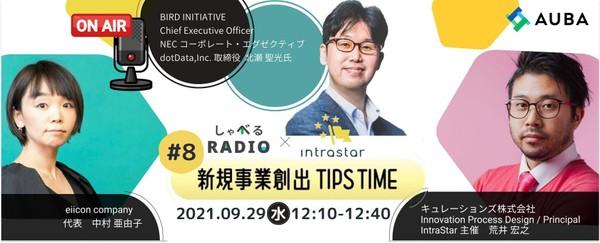 -しゃべるRADIO×IntraStar-~新規事業創出TIPS TIME~