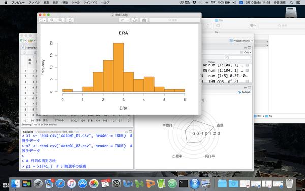 Rで覚える統計がイマイチわからない人のための統計講座「記述統計編」