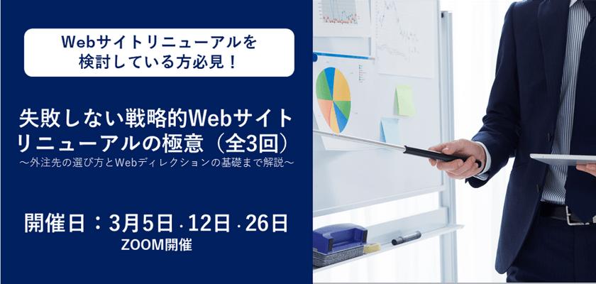 【広告主様向け】第3回 失敗しないWebサイトリニューアル『実践!Webリニューアル後に成果を出すための運用方法』