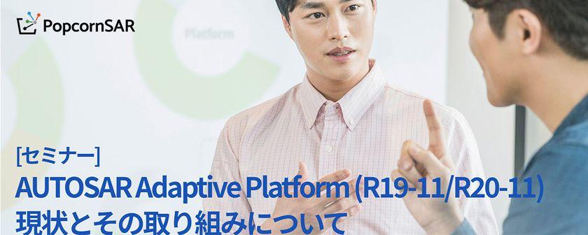 AUTOSAR Adaptive Platform (R19-11/R20-11) 現状とその取り組みについて